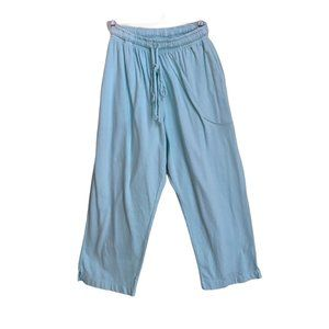 Clearwater Cotton Drawstring Capris NWT